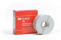 Scotch®  70, самослип. силиконовая резиновая изоляционная лента, 3М